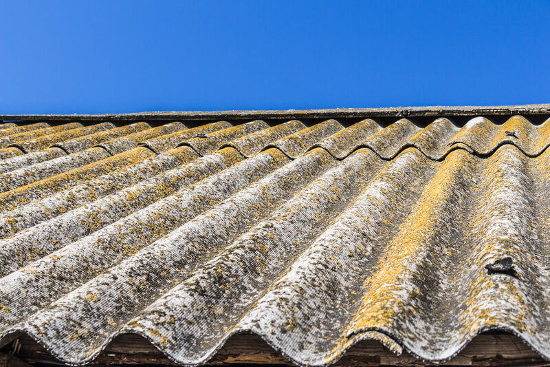 Asbestos Garage Roof Removal Costs Exeter Devon